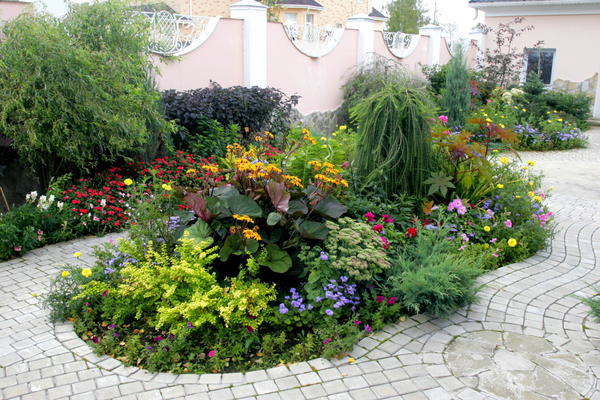 Садовый модуль: идея проста, а как смотрится!