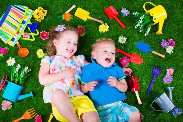 Когда на даче слышен счастливый детский смех - это прекрасно!