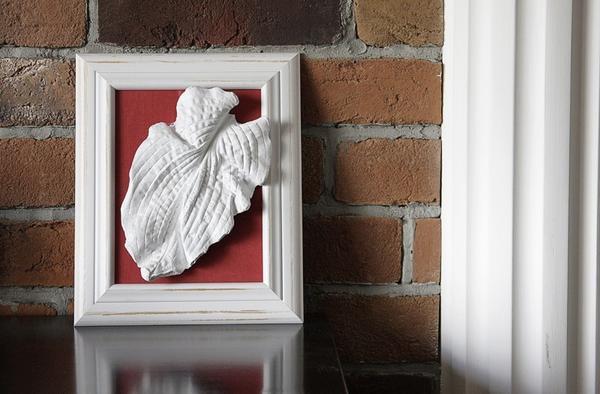 Гипсовый лист-панно. Фото: http://craftsouz.livejournal.com