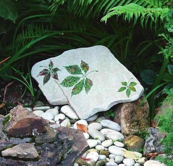 Высушивайте камень в течение 8 часов, а затем используйте его для создания садовых композиций