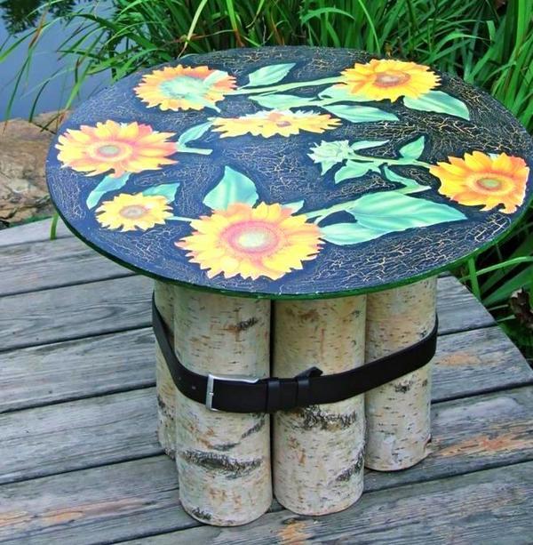 Столик для летних чаепитий