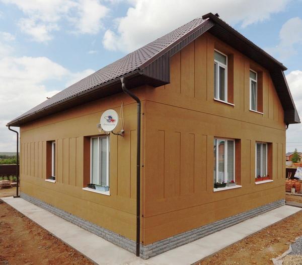 Энергоэффективный дом Natural Balance. Фото: Rockwool