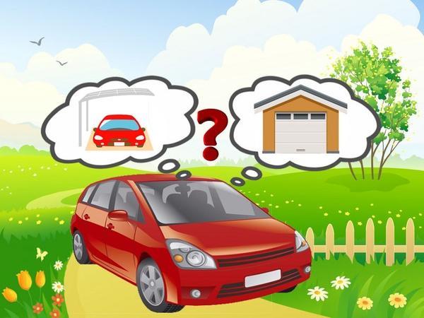 Навес или гараж?