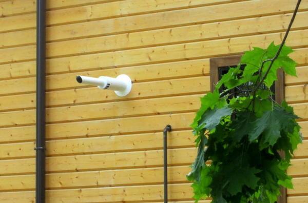 Коаксиальный дымоход для газовых котлов с закрытой камерой сгорания