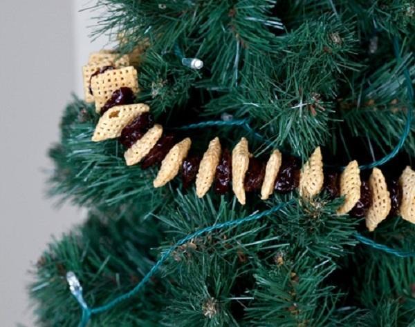 Съедобная гирлянда. Фото с сайта http://www.tablespoon.com