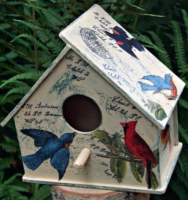 Давайте сделаем для птиц уютный домик!