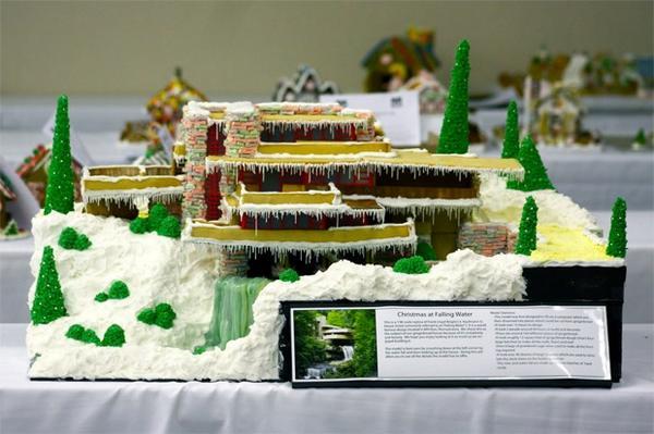Дом над водопадом. Фото с сайта http://amorq.com