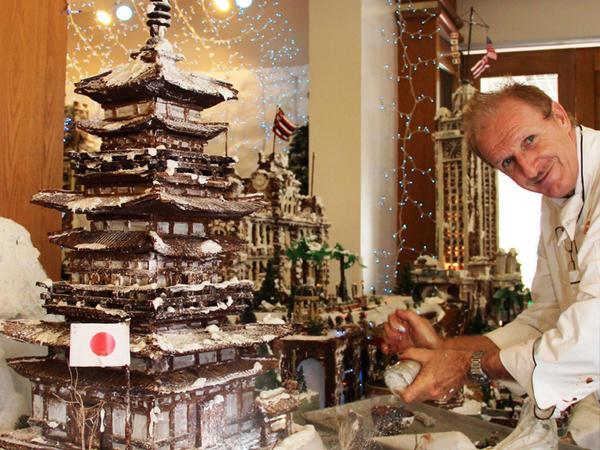 Ральф Бауэр и его творение. Фото с сайта http://inhabitat.com