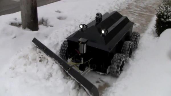 Робот-снегоуборщик. Фото с сайта http://miuz.org