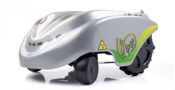 Робот-газонокосилка фирмы Wiper. Фото с сайта  aktin.pl