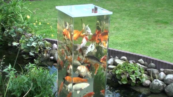 Садовый аквариум. Фото с сайта http://banoosh.com