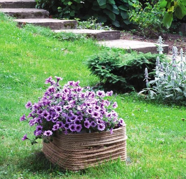 Все садовые пути отличаются волнистой формой и множеством уровней-ступеней