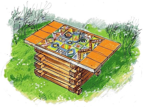 У вас получится не просто стол, а стол-трансформер!