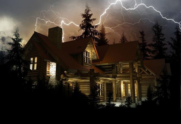 Конечно, вероятность попадания молнии именно в ваш дом невелика, но если это произойдет, рассуждать о целесообразности защиты от нее будет поздно.