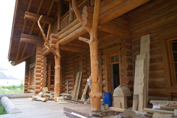 Проектирование рубленого деревянного дома
