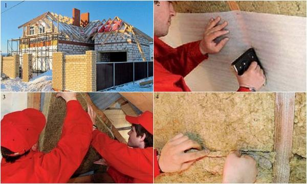 Эффективный способ предотвратить теплопотери - создать дополнительный слой утепления крыши, перекрывающий возможные мостики холода. Фото: Rockwool.