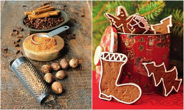 Корица, гвоздика и мускатный орех считаются классическими специями в пряничном деле.