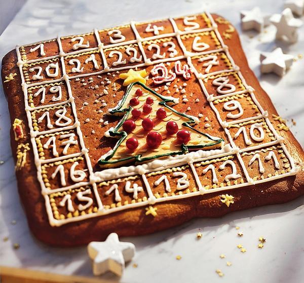 Собственноручно испеченный рождественский календарь подсластит томительное ожидание праздника.