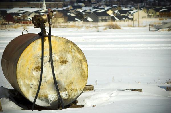 Цистерна для топлива. Фото: BenEarwicker