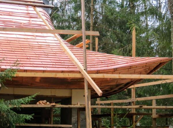 Как передвигаться по такой крыше? Крыша выполнена Н. Савченко