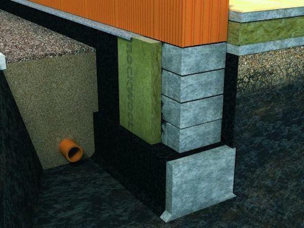 При качественном строительстве фундамент утепляют со всех сторон. Фото: rockwool.ru