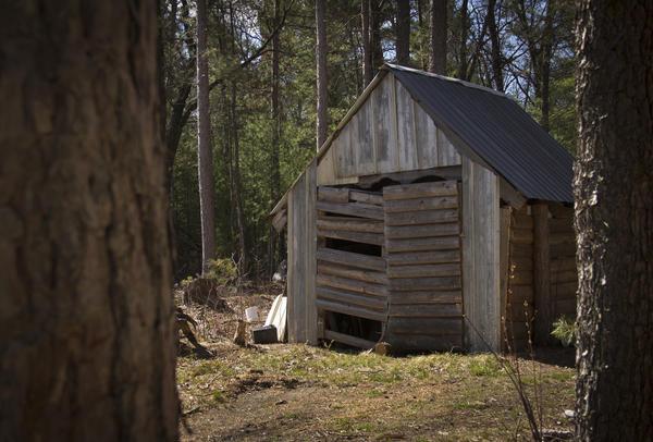 Даже заброшенный охотничий домик будет ориентиром для спасателей