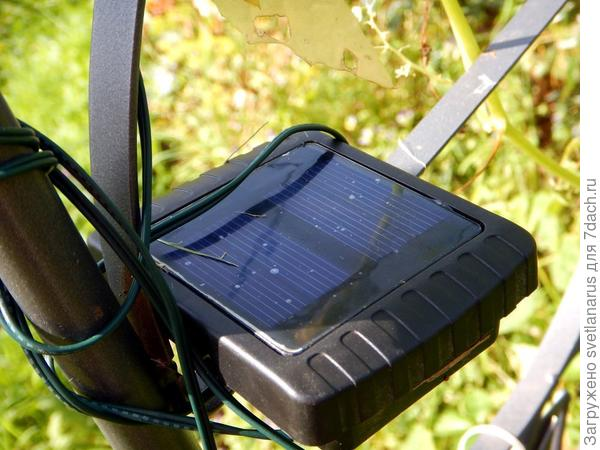 солнечная батарейка