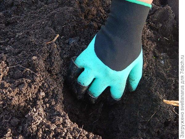 копаем лунку