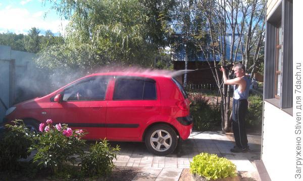 Подготовка к мытью