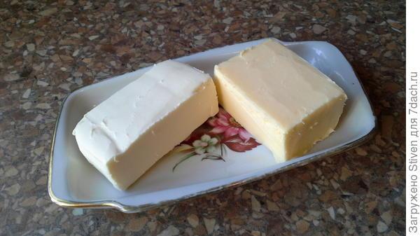 Масло жирное и обесжириное