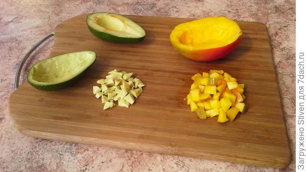 Подготовить фрукты