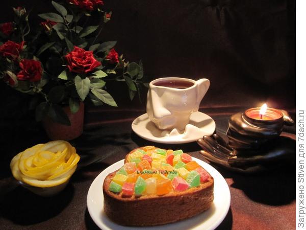 Кекс на праздничном столе