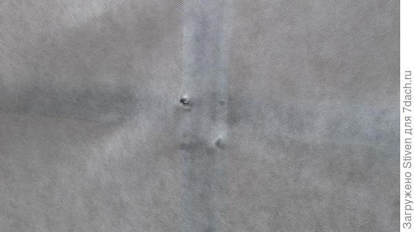 Дырки в тенте в местах крепежа
