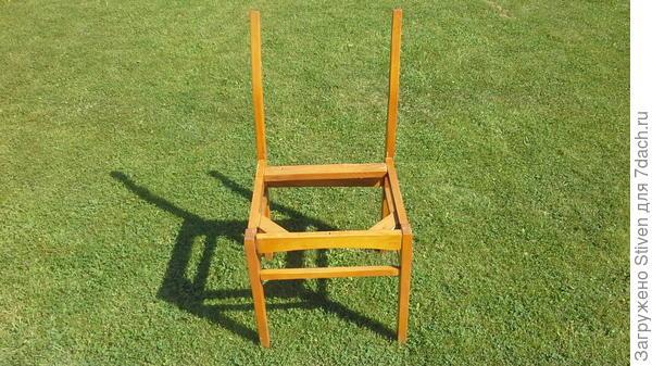 Демонтаж стульев