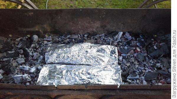 Готовить буду на углях