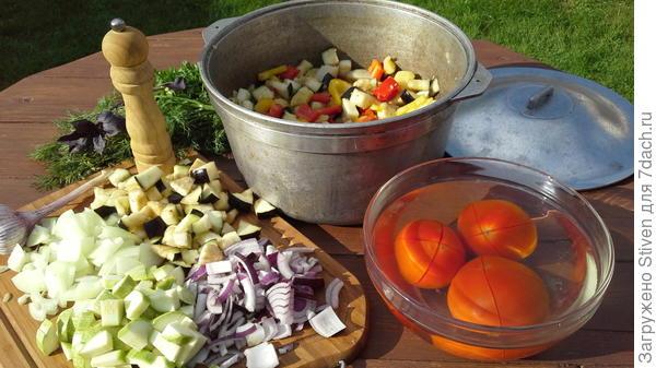 Резка овощей