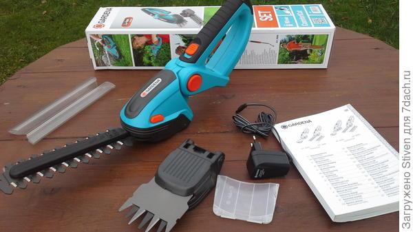 Комплект аккумуляторных ножниц