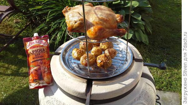 Курица из тандыра с Маринадом для курицы - Махеевъ