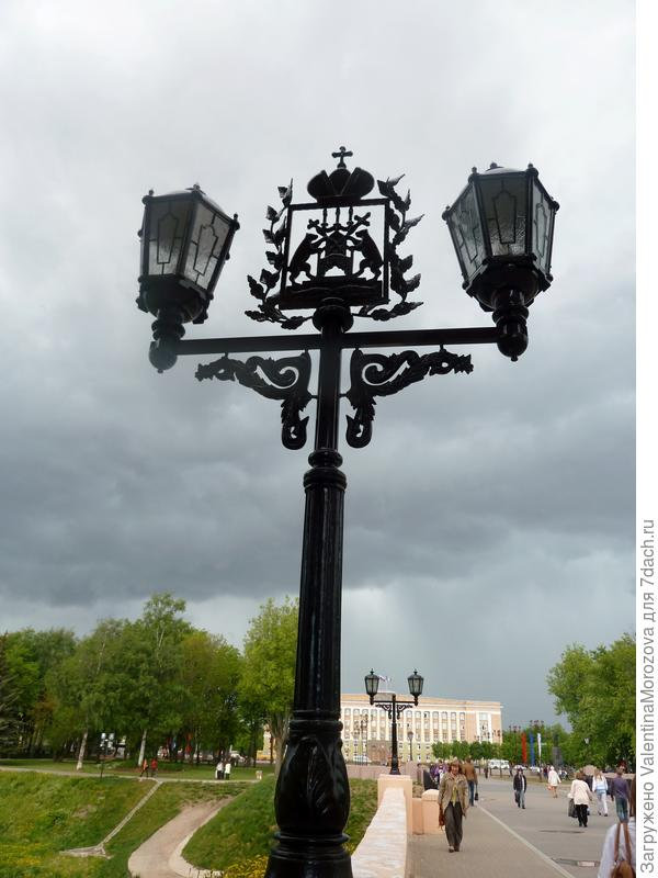 Фонари Великого Новгорода