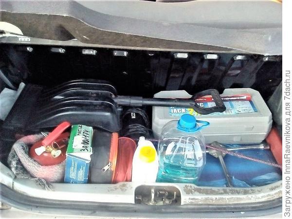 мой багажник