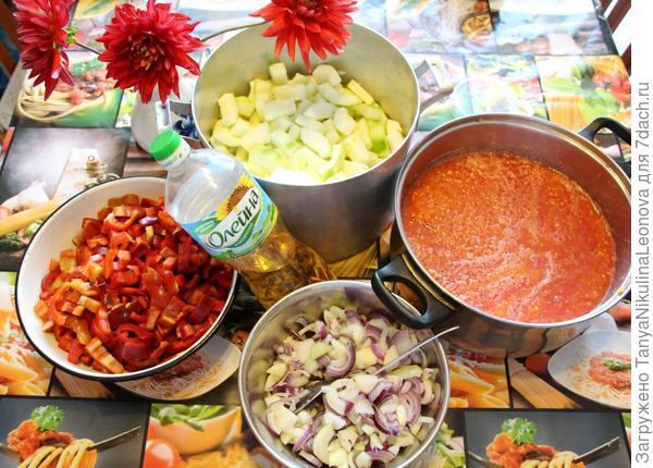 Подготовили овощи