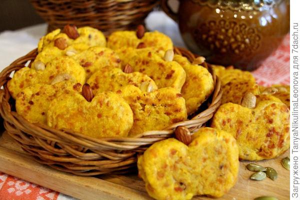 тыквенное печенье с сыром