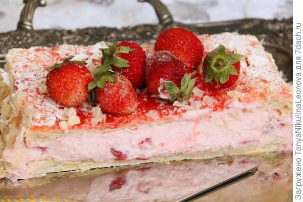 Десерт на разрезе