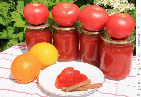 мармелад из томатов