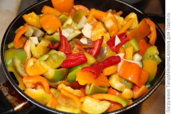 перец + морковь
