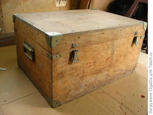 Старый ящик