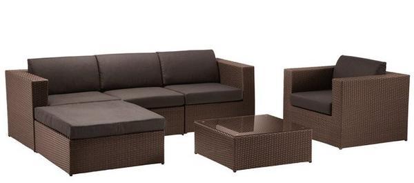Комплект мебели Ohio  из искусственного ротанга
