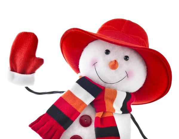 Как сделать снеговика, если снега нет?