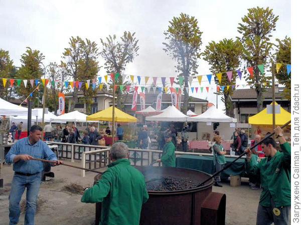 Фестиваль каштанов в Мароле / Festa della Castagna di Marola