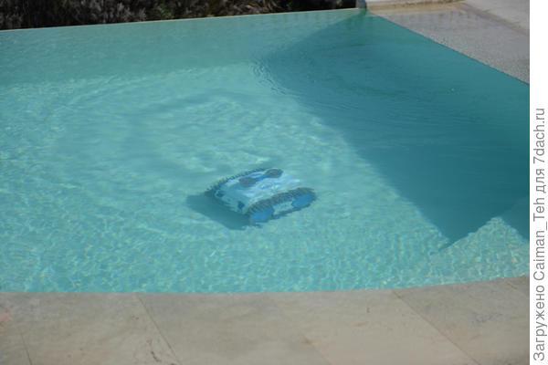 Беспроводной робот для чистки бассейнов Caiman NEMH2O